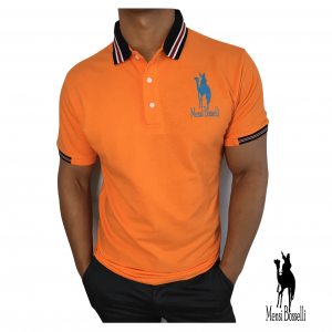 Polo-Shirt orange - Mensi Bosselli