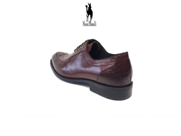 DARLINGTON Business Schuh rot - Mensi Bosselli