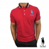 Polo-Shirt in rot - Mensi Bosselli